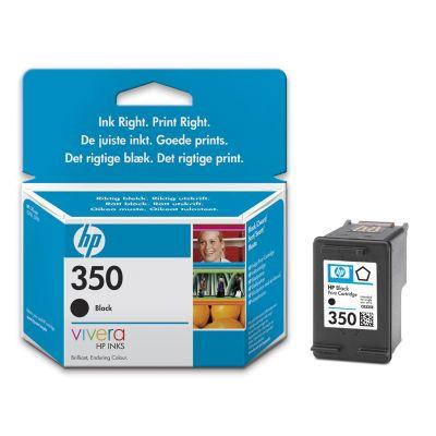 HP CB335EE (No. 350) Bk tintapatron