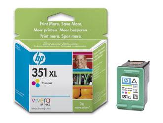 HP CB338EE (No. 351XL) színes tintapatron HP DeskJet D4364 tintasugaras nyomtatóhoz