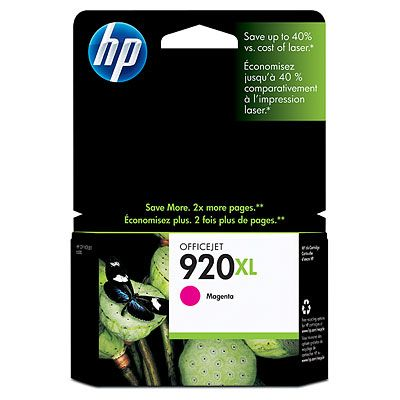 HP CD973AE (No. 920XL)  magenta tintapatron