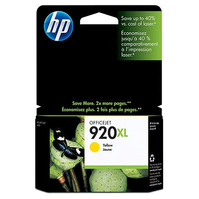 HP CD974AE (No. 920XL) yellow tintapatron HP Officejet 6000 tintasugaras nyomtatóhoz