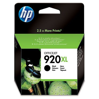 HP CD975AE (No. 920XL) Bk tintapatron