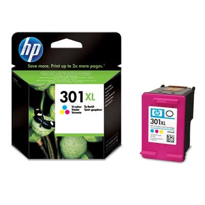 HP No. 301 XL színes eredeti tintapatron CH564EE HP DeskJet D3050 J610a tintasugaras nyomtatóhoz