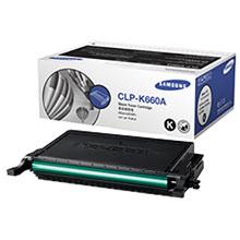 Samsung CLP-K660A lézertoner fekete Samsung CLP-660ND lézernyomtatóhoz