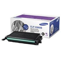 Samsung CLP-K660B lézertoner fekete Samsung CLP-660ND lézernyomtatóhoz
