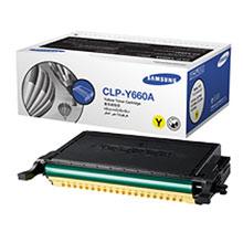 Samsung CLP-Y660A lézertoner yellow Samsung CLP-660ND lézernyomtatóhoz