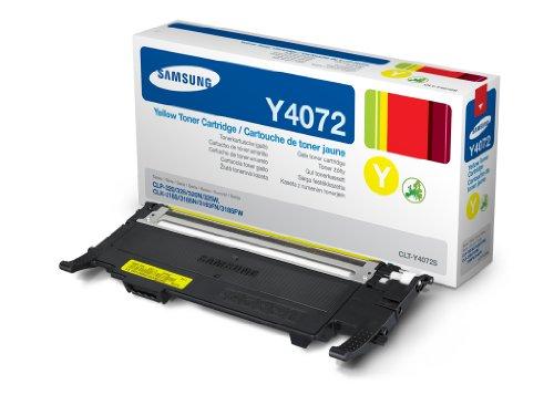 Samsung CLP-320/325 lézertoner yellow CLT-Y4072S Samsung CLX-3185 lézernyomtatóhoz