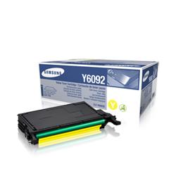 Samsung CLT-Y6092S lézertoner yellow Samsung CLP-770N lézernyomtatóhoz
