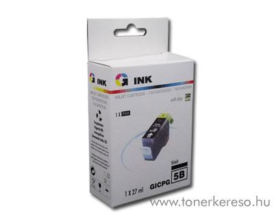 Canon PGI5B fekete utángyártott chipes tintapatron G-Ink Canon PIXMA iX5000 tintasugaras nyomtatóhoz
