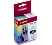 Canon BCI 21 Bk tintapatron Canon BJC2100 tintasugaras nyomtatóhoz