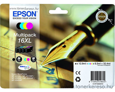 Epson 16XL eredeti multipack csomag T16364010