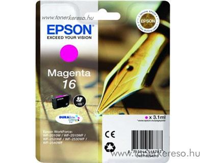 Epson 16 eredeti magenta tintapatron T16234010