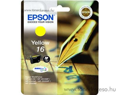 Epson 16 eredeti yellow tintapatron T16244010