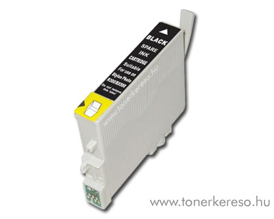 Epson T0801 fekete utángyártott tintapatron OP Epson Stylus Photo RX595 tintasugaras nyomtatóhoz