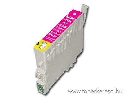 Epson T0803 magenta utángyártott tintapatron OP Epson Stylus Photo RX585 tintasugaras nyomtatóhoz
