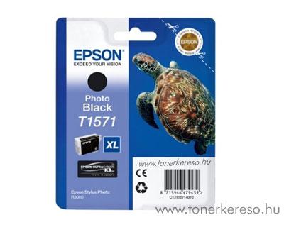 Epson Tintapatron T1571 fekete Epson Stylus Photo R3000 tintasugaras nyomtatóhoz
