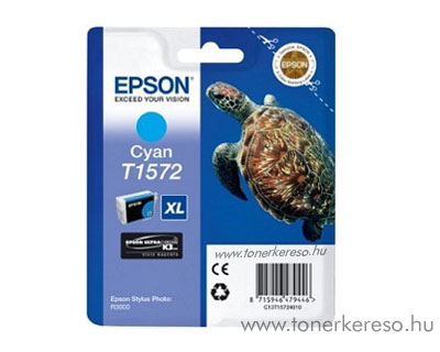 Epson Tintapatron T1572 cyan Epson Stylus Photo R3000 tintasugaras nyomtatóhoz