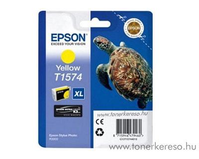 Epson Tintapatron T1574 yellow Epson Stylus Photo R3000 tintasugaras nyomtatóhoz