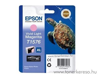 Epson Tintapatron T1576 light-magenta Epson Stylus Photo R3000 tintasugaras nyomtatóhoz