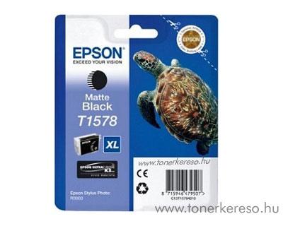 Epson Tintapatron T1578 matte black Epson Stylus Photo R3000 tintasugaras nyomtatóhoz