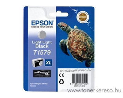 Epson Tintapatron T1579 light-light black Epson Stylus Photo R3000 tintasugaras nyomtatóhoz