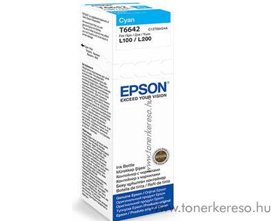 Epson Tinta cyan T66424A Epson L1300 tintasugaras nyomtatóhoz