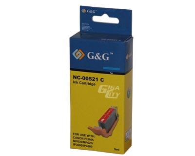 Canon CLI 521 cyan tintapatron G&G CLI-521C