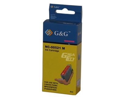 Canon CLI 521 magenta tintapatron G&G CLI-521M