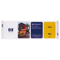 HP C1809A Y tintapatron HP DesignJet 3800cp Wide Format Color tintasugaras nyomtatóhoz