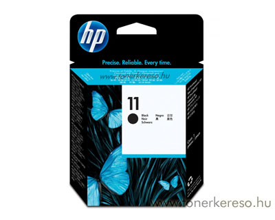 HP C4810A Bk (No. 11) nyomtatófej fekete HP Colorprinter 1700 tintasugaras nyomtatóhoz