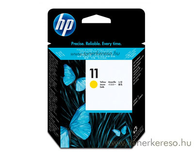 HP C4813 Y (No. 11) nyomtatófej yellow HP DesignJet 815 tintasugaras nyomtatóhoz
