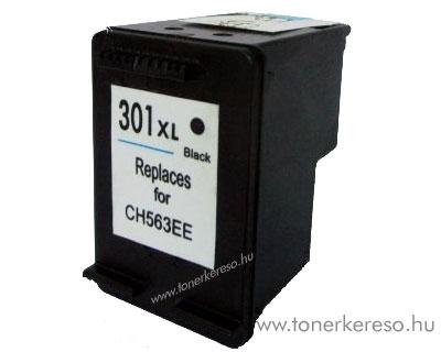 HP CH563 No. 301XL fekete utángyártott tintapatron G-Ink  HP DeskJet 3055 tintasugaras nyomtatóhoz