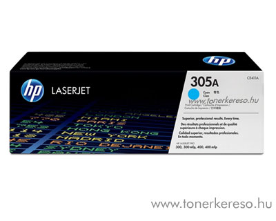 HP 305A Cyan toner (CE411A) HP LaserJet Pro 400 M451nw lézernyomtatóhoz
