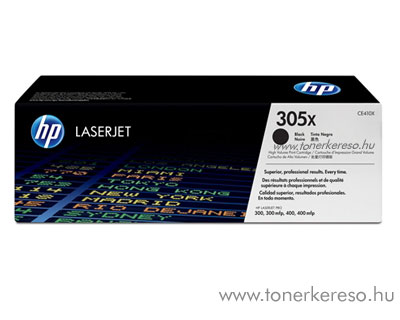 HP 305X Bk toner (CE410X) HP LaserJet Pro 400 M451nw lézernyomtatóhoz