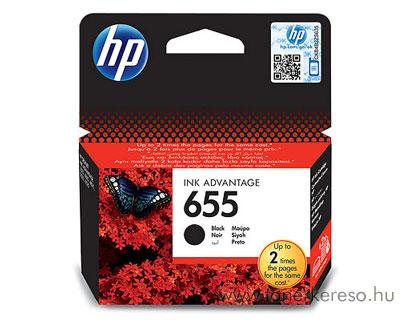 HP CZ109AE (No. 655) Bk tintapatron HP Deskjet Ink Advantage 4615 tintasugaras nyomtatóhoz