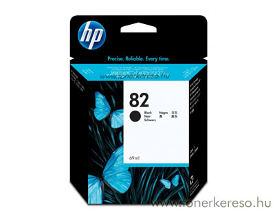 HP CH565A (No. 82) Bk tintapatron HP DesignJet 111  tintasugaras nyomtatóhoz