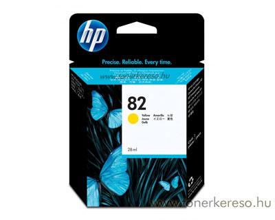 HP CH568A (No. 82) Yellow tintapatron HP DesignJet 510 tintasugaras nyomtatóhoz