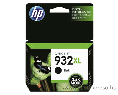 HP CN053AE (No. 932XL) Bk fekete tintapatron HP Officejet 7612 Wide Format e-All-in-One tintasugaras nyomtatóhoz