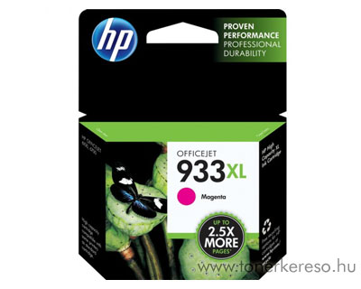 HP CN055AE (No. 933XL) magenta tintapatron HP Officejet 7612 Wide Format e-All-in-One tintasugaras nyomtatóhoz