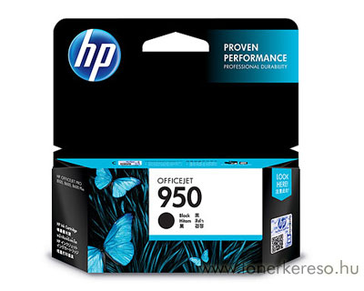 HP CN049AE (No. 950) Bk tintapatron HP Officejet Pro 8610 e-All-in-One Printer  tintasugaras nyomtatóhoz