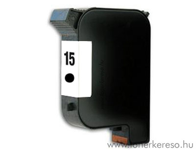 HP C6615D (No. 15) kompatibilis tintapatron (fekete) nagykapacit