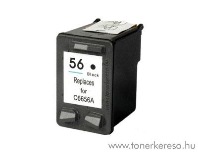 HP C6656A (No. 56) utángyártott fekete tintapatron GIH6656 HP Deskjet 5652 tintasugaras nyomtatóhoz