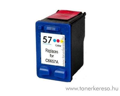 HP C6657A (No. 57) utángyártott színes tintapatron GIH6657 HP PSC 2175 tintasugaras nyomtatóhoz