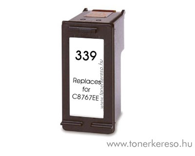HP C8767EE (No. 339) utángyártott fekete tintapatron GIH339 HP DeskJet 6620 tintasugaras nyomtatóhoz