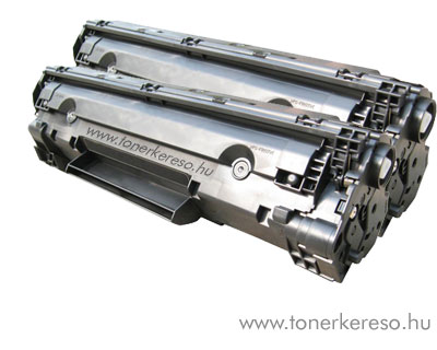 HP CB436A utángyártott/kompatibilis lézertoner dupla csomag 2 db