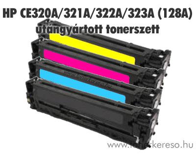 HP CE320A/321A/322A/323A (128A) utángyártott tonercsomag/pack BC