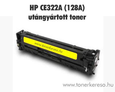 HP CE322A (128A) yellow utángyártott lézertoner OP