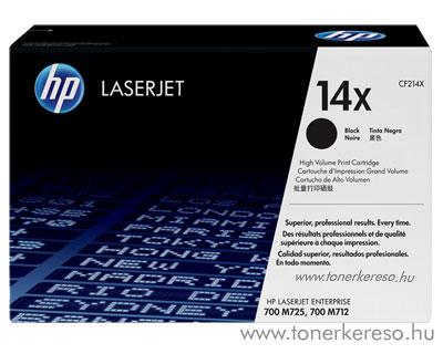 HP CF214X (No. 14X) eredeti lézertoner Bk fekete