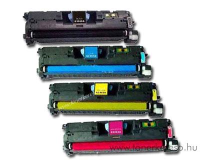 HP Q3960/3961/3962/3963 utángyártott lézertoner csomag BCMY OP HP Color LaserJet 2550 lézernyomtatóhoz