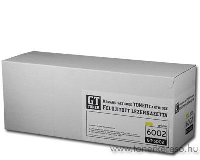HP Q6002A yellow kompatibilis/felújított lézertoner GToner