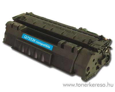 HP Q7553X utángyártott/kompatibilis lézertoner OP HP LaserJet M2727NF lézernyomtatóhoz